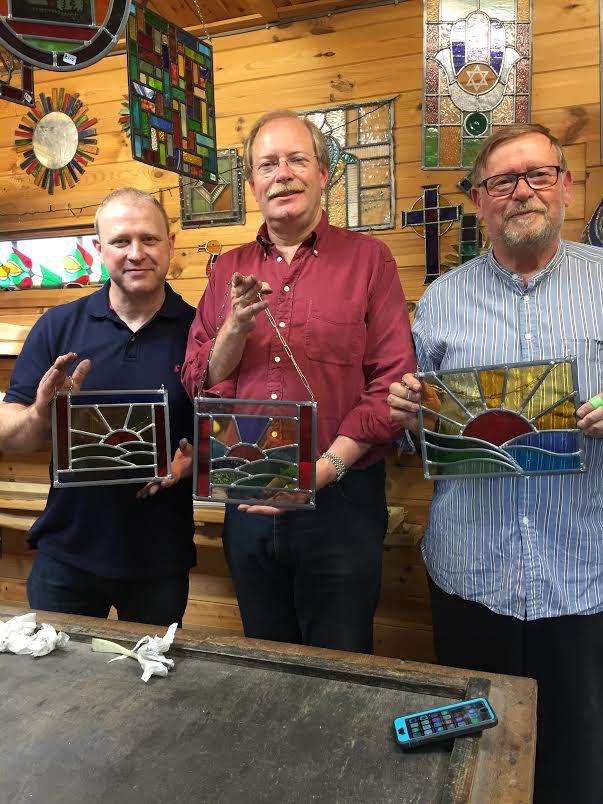 Three Guys… Russell Andrew & Paul