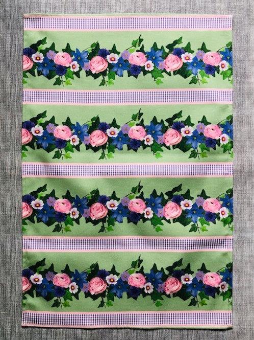Summer Blooms Tea Towel