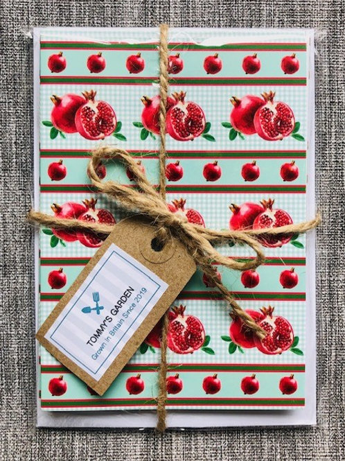 Pomegranate Notecards