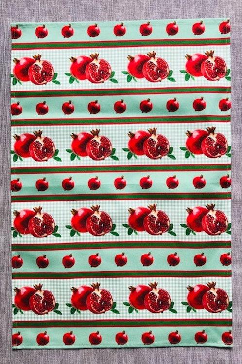 Pomegranate Tea Towel