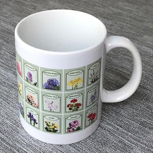 British Garden Favourites Mug
