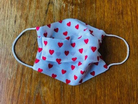 Valentine's Handmade Face Mask