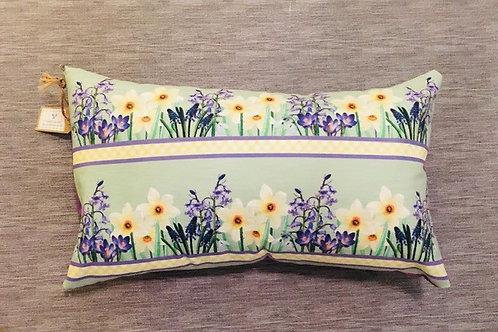 Spring Bulbs Handmade Cushion