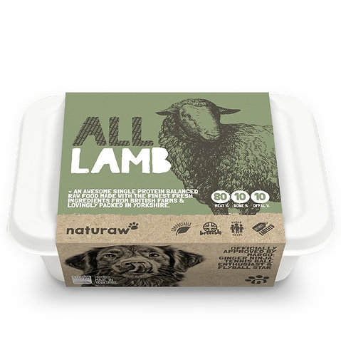 Naturaw - All Lamb Complete (Single Protein) 500g