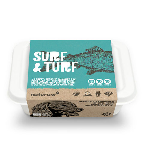 Naturaw - Surf & Turf Complete 500g