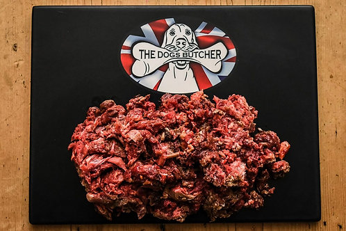 The Dogs Butcher - Horse Meat with Veal Bone 1kg