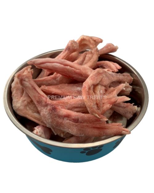 Premium Raw - Goose Feet  1kg