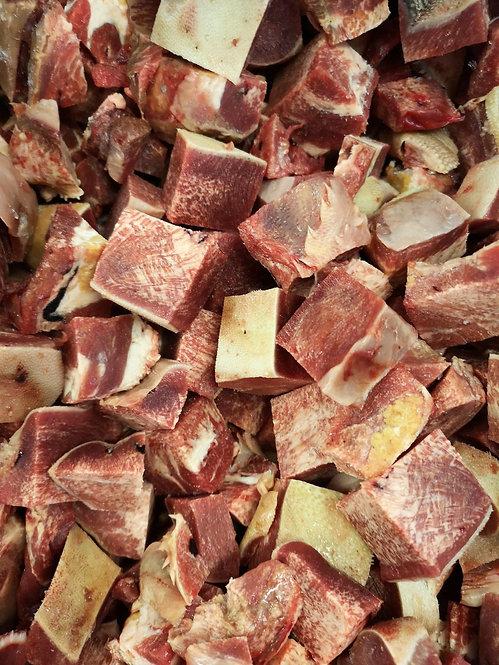 Ox Tongue Chunks 1kg