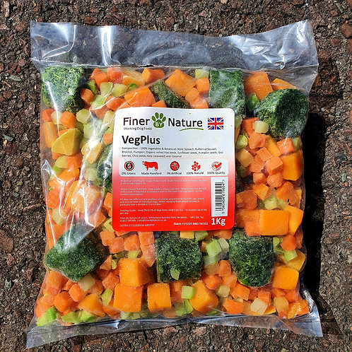 Finer By Nature - VegPlus with Superfoods 1kg