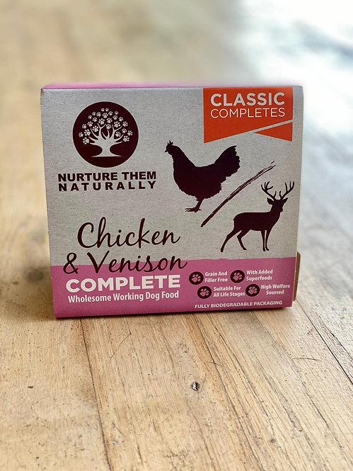 Nurture Them Naturally - Chicken & Venison Complete 500g