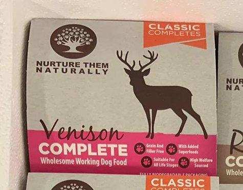 Nurture Them Naturally - Venison Complete 500g