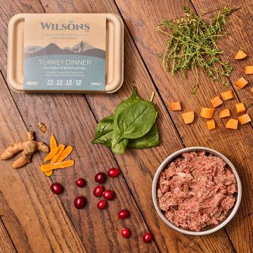 Wilsons - Turkey Dinner 500g