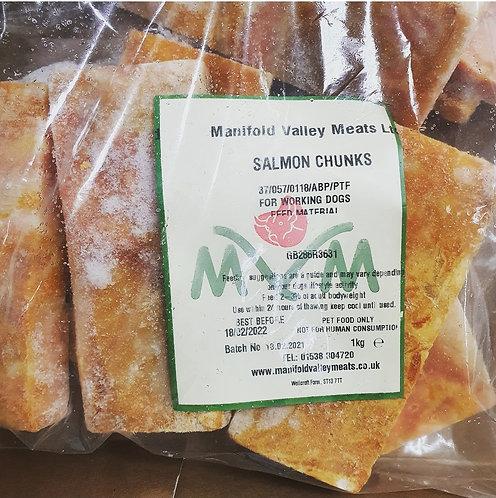 Scottish Salmon Chunks 1kg