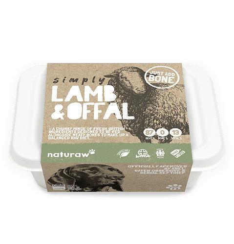 Naturaw - Simply Lamb & Offal 500g