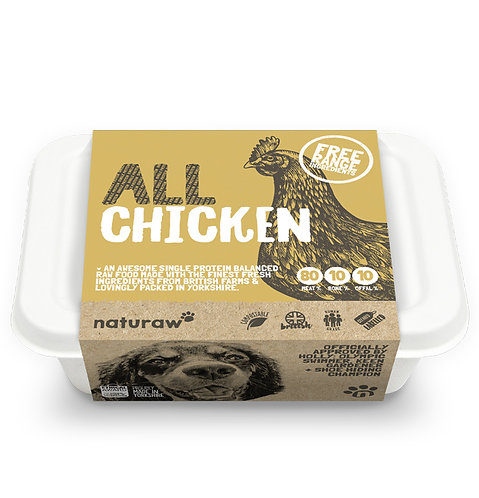 Naturaw - All Free Range Chicken Complete (Single Protein) 500g