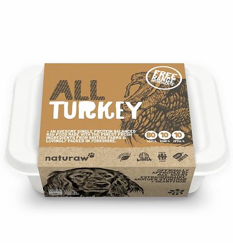 Naturaw - All Free Range Turkey Complete (Single Protein) 500g