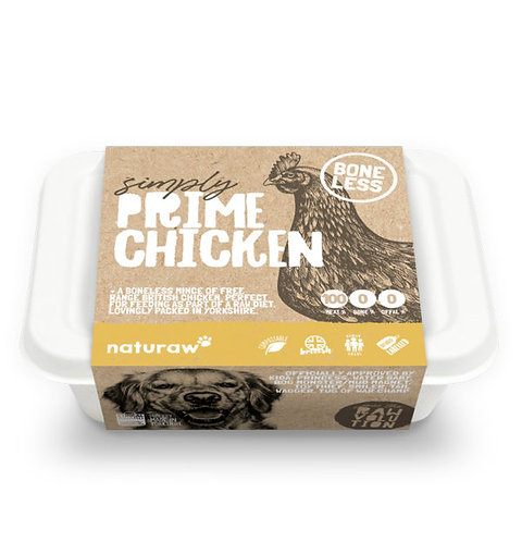 Naturaw - Simply Prime Boneless Chicken 500g