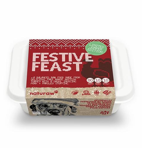 Naturaw - Festive Feast - Turkey with Pork & Parsley 500g