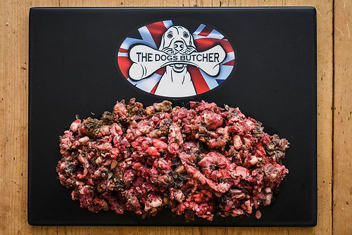 The Dogs Butcher - Rabbit with Lamb Tripe 1kg