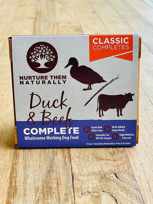 Nurture Them Naturally - Duck & Beef Complete 500g