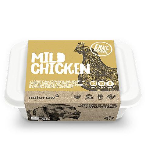 Naturaw - Mild Chicken with Bone (Free Range)  500g