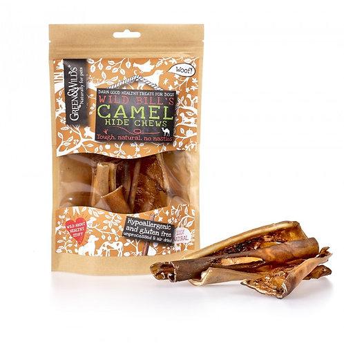 Green & Wilds - Camel Hide Chews 100g