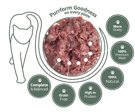 Purrform - Farmed Rabbit and Ground Bone 450g