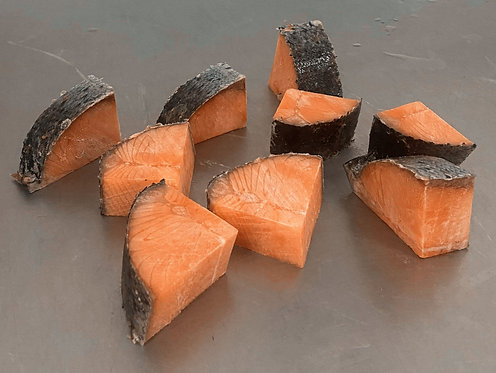 Prime Scottish Salmon Chunks 1kg