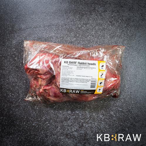 Rabbit Heads 1kg