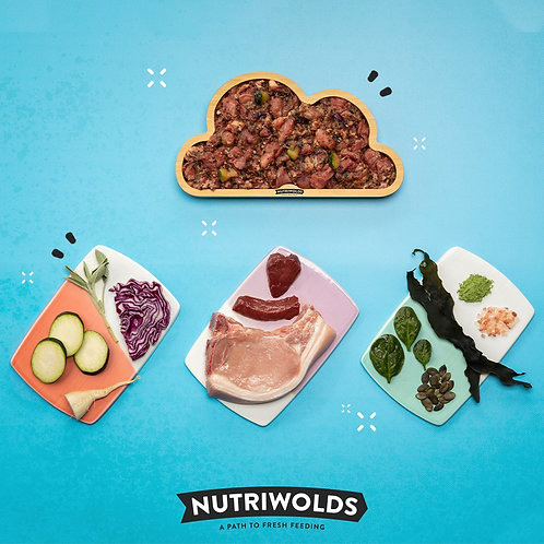NutriWolds - Happy Pork Super Chunky Complete 500g