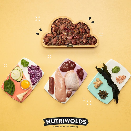 NutriWolds - Chicken Casserole Super Chunky Complete 1kg