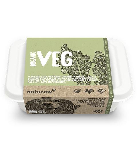 Naturaw - Organic Veg 500g