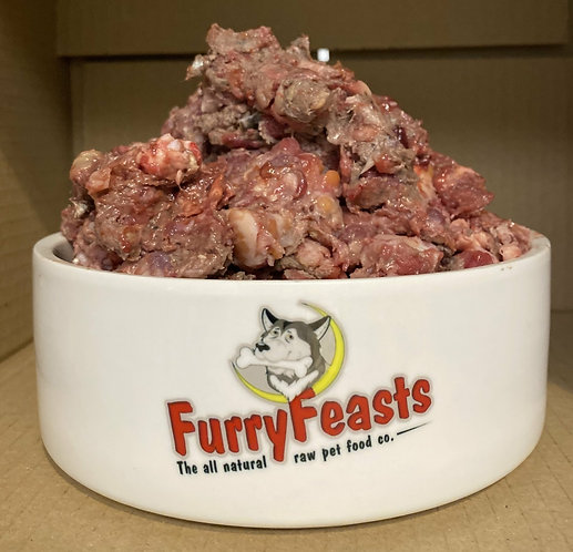 Furry Feasts - Beef & Oily Fish Complete 1kg