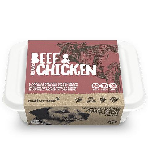 Naturaw - Beef & Organic Chicken Complete 500g