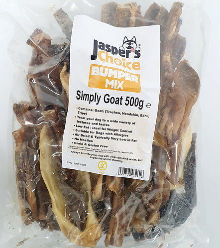 Jaspers Choice NATURALS - Simply Goat Mixed Bumper Pack 500g