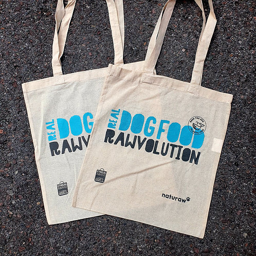 Naturaw Cotton Tote Bag - Real Dog Food Raw-volution