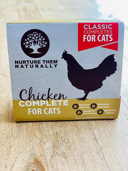 Nurture Them Naturally - Chicken Complete for Cats 500g