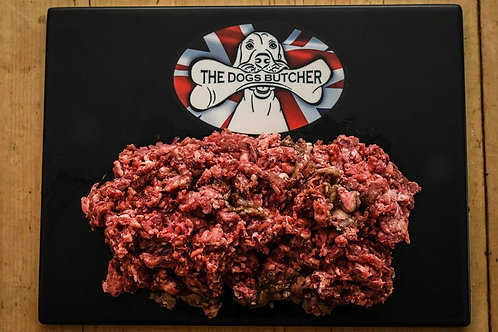 The Dogs Butcher - Christmas Mince - Turkey, Pheasant & Venison 1kg