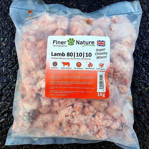 Finer By Nature - Lamb 80-10-10 1kg (Super Chunky)1