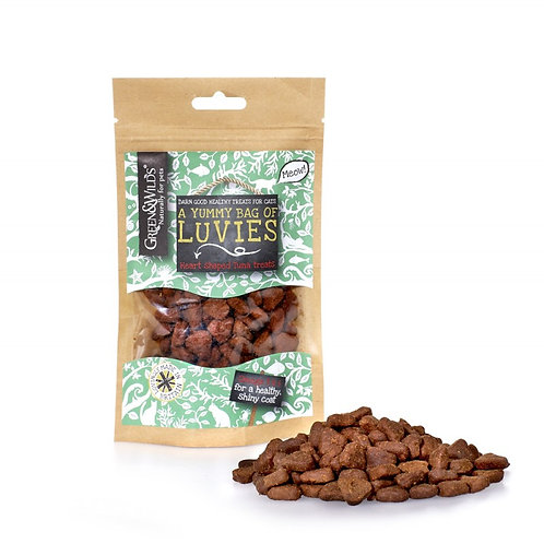 Green & Wilds - Chicken & Tuna Luvies 75g (For Cats & Dogs)