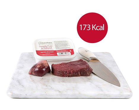 Purrform - Beef Trim with Ox Heart 250g