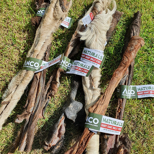 ANCO Naturals Giant Range - Giant Furry Bully Stick