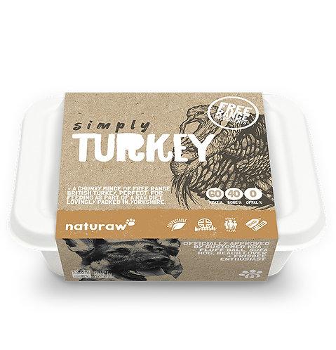 Naturaw - Simply Turkey (Organic, Free Range) 500g