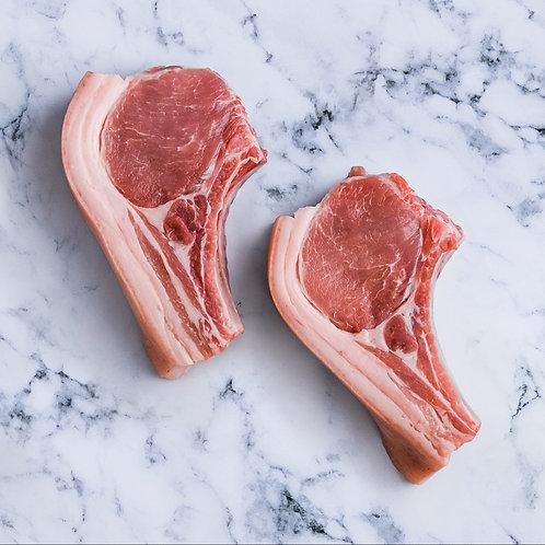 Pork Chops with Bone Chunks 1kg