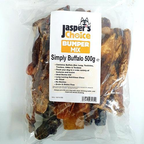 Jaspers Choice NATURALS - Simply Buffalo Mixed Bumper Pack 500g