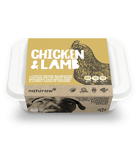 Naturaw - Chicken & Lamb Complete 500g