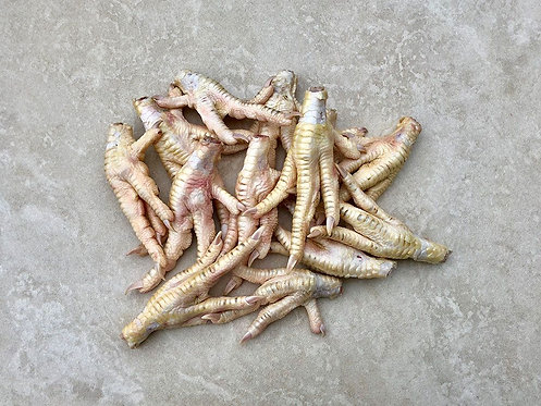 Chicken Feet (Individually Frozen) 1kg