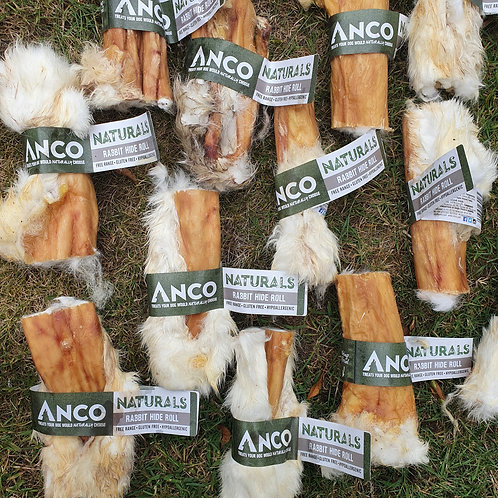 ANCO Naturals - Rabbit Hide Roll With Fur x3