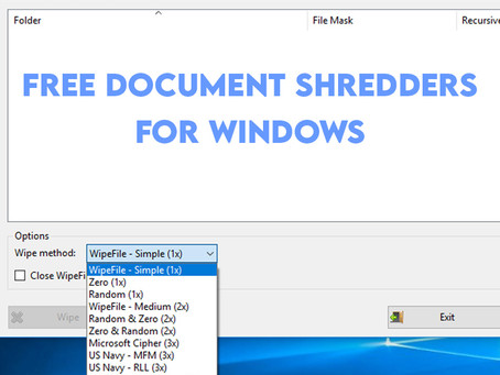 7 Free Document Shredders For Windows Users To Securely Delete Sensitive Information