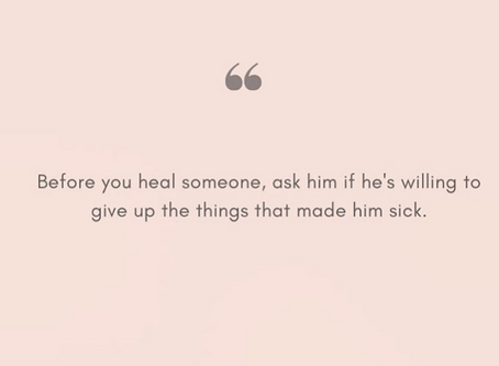 Healing Requires Vulnerability